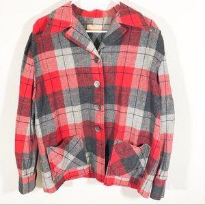 Pendleton Portland 100% wool blazer